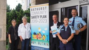 Bathurst Community Committee Around Sign